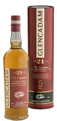 Glencadam Highland Single Malt Whisky 21 Years unchillfiltered von Glencadam aus Schottland/Highlands Spirituosen Whisky